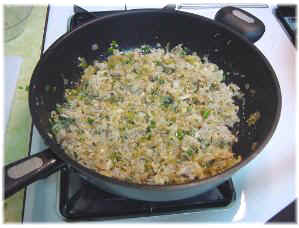 Stuffed crab mixture